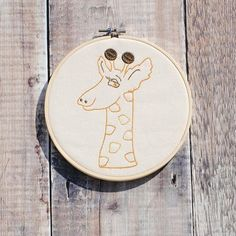 Time to stand as tall as a giraffe today  as I continue with new designs and prepare for another working weekend. This beautiful giraffe embroidery hoop is part of my Noahs Ark collection its available from @bespokeinlichfield and can be made to order with personalisation. X All designs copyright Lisa Marie Olson - Tigerlily Makes. Registered & Protected by ACID (anti copying in design). #embroidery #embroideryart #embroideryhoop #alice #aliceinwonderland #aliceembroidery…