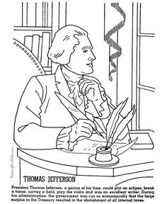 thomas jefferson worksheets - Google Search | Summer Worksheets ...