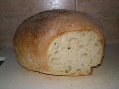 Zemiakový chlieb - My site 4 Ingredients, Bread Recipes, Ham, Recipies, Food And Drink, Pizza, Sweets, Lunch, Cooking