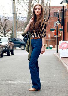 jazzy work clothes street fashion