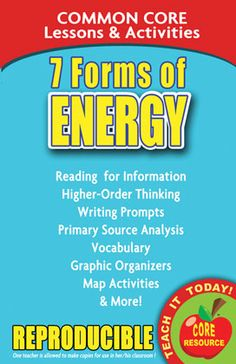 Forms of Energy Bundle: Examples, Cut & Paste, Application, Energy ...