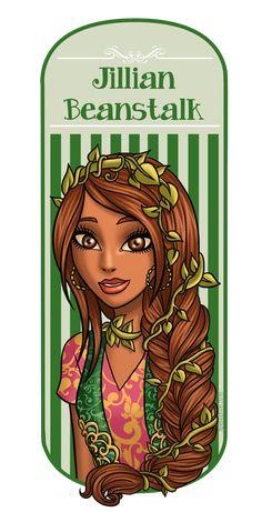 Jillian Beanstalk by AvieHudson.deviantart.com on @DeviantArt