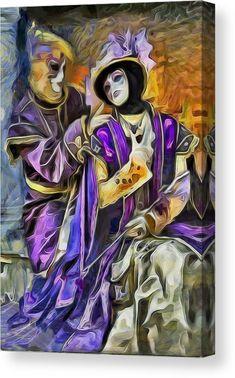 Masks of Venice Canvas Print / Canvas Art by Galeria Trompiz Stretched Canvas Prints, Framed Prints, Carnival Of Venice, Got Print, Op Art, Urban Art, Fine Art America, Poster Prints, Canvas Art