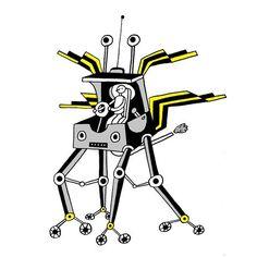 Car 167. #illustration #illustrator #drawing #draw #insect #insectlicious #sketch #sketchbook #tekening #dessin #design #doodle #art #creative #lineart #bw #handdrawn #sf #picame #illustragram #technology #fantasy