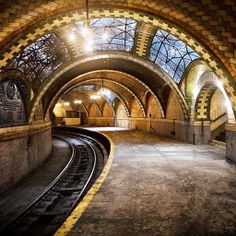 I left out one critical place I want to go in NYC. - Abandoned City hall subway station - NYC.