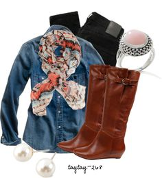 """""""Today's Outfit 10.27.12"""" by taytay-268 on Polyvore"""