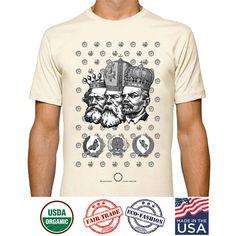 #organic #organiccotton #OrganicClothing #unisex #clothing #funny #SurrealArt #weirdArt #queer #DTGprint #casualwear #casualfashion #UrbanFashion #surrealArt #surrealClothing #Tshirts #tees #luxuryGoods #casualLuxury #GiftforWife #giftfordad #graphicTees #graphicdesign #madeinusa #SovietUnion #vintage #style TSHIRTS, #KarlMarx & #Engels tees, #Communist #Lenin Tees, #Political #Mockery, #Russian #Orthodox #Crowns A #Socialist #Royalty Art Tees by Designer #Heraldry #Butterfly #fantasy…
