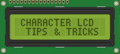 7 Arduino LCD display tips and tricks - 7 tips and tricks for driving a Arduino LCD Display like the common 2x20 and 4x20 screens. Learn how to use a buffer, sprintf(), and printing floats!