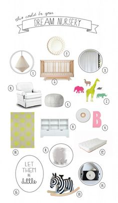 Spotted our Origami Pendant, Mosaic Mirror, Tassel Window Panels, and Moroccan Pouf in the Dream Nursery by @Mom's Best