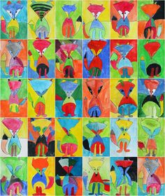 Art With Mr Hall: Fantastic Fauvist Foxes