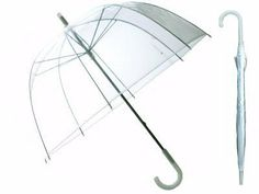"30"" Full Size L Clear Plastic Dome Bubble Rain - 46"" FULL SIZE LARGE CLEAR PLASTIC DOME BUBBLE RAIN UMBRELLA DOME STYLE ARC, MANUAL-OPEN MATCHING HOOK HANDLE, PLASTIC TIPS AND HANDLE CLEAR PVC CLEAR PLASTIC CASE. http://www.umbrellaforsale.com/30-full-size-l-clear-plastic-dome-bubble-rain-umbrella/"