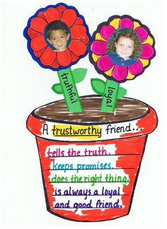 An activity to do for Trustworthiness  After reading the Empty Pot