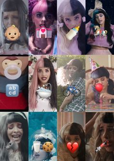 melanie martinez crybaby described with emojis(even tho mad hatter isn't there) by: @rileyogden_