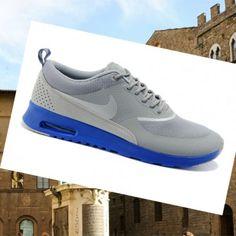Italia Acquistare a buon Mercato Nike Air Max Thea Uomini Stampa cool grigio  - bianco   blu scarpe con un design pull-aided tacco ed6e2cf8f95