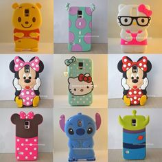New 3D lovely Cute Soft Silicone Case rubber cover for Samsung Galaxy S5 Vi9600