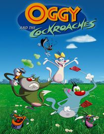 O - Oggy and the Cockroaches
