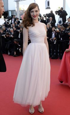 Cannes Day 3: NYMagazine's The Cut featured Louise Bourgoin