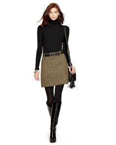 Polo ralph lauren Wool-blend-tweed Miniskirt in Natural Polo Ralph Lauren Minirock aus Woll-Mix-Tweed in Natur Related posts: No related posts. All Black Outfits For Women, Winter Outfits For Work, Fall Outfits, Casual Outfits, Clothes For Women, Clothes Sale, Black Women, Outfit Winter, Winter Work Clothes