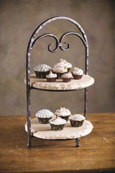 Two Tier Serving by Bella Toscana - from The Lamp Stand
