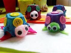 MunchkinTime: Easy Egg Carton Turtle Craft for Kids