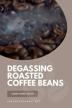 Do you ever wonder what goes into the process of preparing coffee for the consumer? Degassing coffee beans is an essential part of coffee preparation! Learn all about it today! #coffeedegassing #roastedcoffeebeans #coffeeroasting #whydegascoffee Types Of Coffee Beans, Arabica Coffee Beans, Coffee Facts, Coffee Type, Degas, Coffee Roasting, Coffee Lovers, Bubble, Group