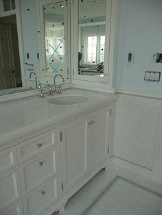 2 bath: medicine cabinet