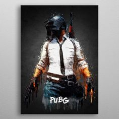 PUBG poster by from collection. By buying 1 Displate, you plant 1 tree. Mobile Wallpaper Android, Mobile Legend Wallpaper, Wall Art Prints, Poster Prints, Canvas Prints, Photoshop Images, Adobe Photoshop, Halo Master Chief, Gaming Posters