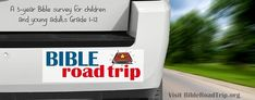 Bible Road Trip ~ The Everything Page {An index to everything you need to know for this free 3 year Bible curriculum.}