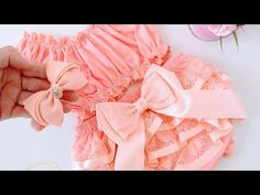Baby Girl Birthday Dress, Birthday Dresses, Cool Baby Clothes, Diy Dress, Baby Sewing, Embroidery Designs, Sewing Projects, Sewing Patterns, Ruffle Blouse