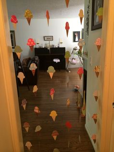 Ice Cream Decoration or Ice Cream Garland for by MadeWithLoveByAni