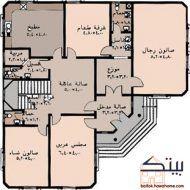 مخططات بيوت سعودية Cat House Plans, House Layout Plans, Family House Plans, Dream House Plans, Small House Plans, House Layouts, House Floor Plans, House Floor Design, Home Design Floor Plans