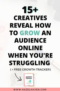 As a creative business owner, growing your audience online can be a struggle at first with so many different tools and strategies to choose  from. That's why I created this Lessons Learned series!  I reached out to 15 creative business owners about growin