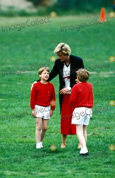 Diana and William with friend