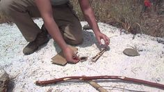 Primitive Fire Starting Methods: Bow Drill Fire