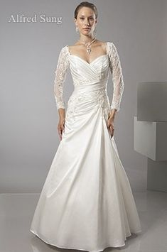 second wedding dresses for older brides | ... wedding dress for a second time bride or mature bride who doesn't want