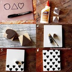 DIY stamped cards