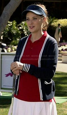 Jess's golfing outfit on New Girl.  Outfit Details: http://wornontv.net/47711/ #NewGirl