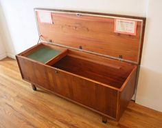 mid century modern hope chest - Google Search