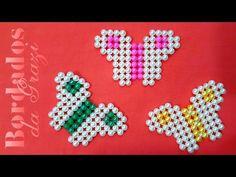 Borboleta de pérolas fácil muito fácil - YouTube