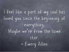 ~ Emery Allen