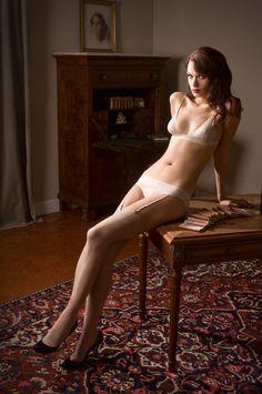 Maison Close Exquise Allure triangle bra and panty. #maisonclose #lingerie #bride
