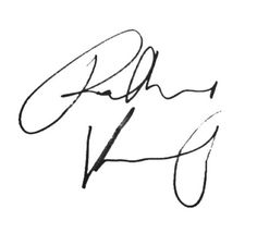 Robbie Kay's autograph for your board. Congratulations.