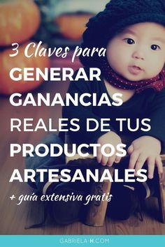 3 Claves para generar ganancias reales de tus productos DIY