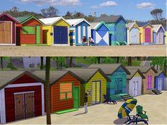 Sims3Addicted@MTS - Brighton Beach Shacks (40x40) #Sims3