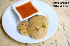 Oats Broken Wheat Idlis is a healthy Idli that you can make instantly for breakfast or dinner. Makes a wonderful variety.