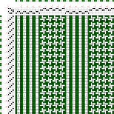 draft image: Page Figure Textile Design and Color, William Watson, Longmans, Green & Co. Weaving Designs, Weaving Projects, Weaving Patterns, Finger Weaving, Loom Weaving, Hand Weaving, Weaving Textiles, Textile Fabrics, Cricket Loom