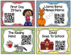 QR Codes September Listening Center from Teaching Superkids on TeachersNotebook.com - (47 pages) - QR Codes for you Listening Center Just in time for Back To School With Student Response Sheets