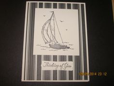 Stampin'Up! card idea | Male | by Stampin'Up! Demonstrator Shirley McKay, The Daily Stamper