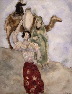 Marc Chagall, Eliezer and Rebecca, 1931. on ArtStack #marc-chagall #art