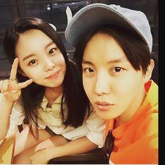 J-hope and hes sister Jung Da-won Jung Hoseok, K Pop, Jhope Sister, Jung Ji Woo, Bts Predebut, Bts Agust D, Bts Show, Bts Jungkook, Suga Suga
